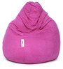Suede Bean Bag Cover without Beans in Light Purple Colour by Can