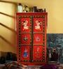 Anula Hand Painted Almirah (Wardrobe) by Mudramark