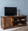 Lancefield Entertainment Unit in Provincial Teak Finish by Amberville