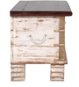 Yuna (Trunk) with Repousse Work in Antique Finish by Bohemiana