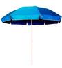 Sun Umbrellas Winch Open Outdoor Umbrella 7 inch in Blue