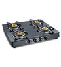 Sunflame Crystal 4B BK Auto Toughened glass cooktop