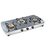 Sunflame Crystal Plus Toughened Glass 3-burner Auto Ignition Cooktop