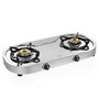Sunflame Optra Stainless Steel 2-burner Cooktop