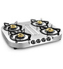 Sunflame Optra Stainless Steel 4-burner Cooktop