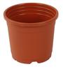 Sunrise 11 cm Brown Colour Planter Pot by Chhajed Garden