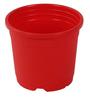 Sunrise 11 cm Red Colour Planter Pot by Chhajed Garden