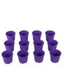 Sunrise 11 cm Purple Colour Planter Pot by Chhajed Garden
