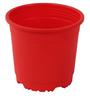 Sunrise 14.5 cm Red Colour Planter Pot by Chhajed Garden