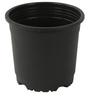 Sunrise 19.5 cm Black Colour Planter Pot by Chhajed Garden