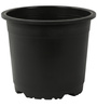 Sunrise 26 cm Black Colour Planter Pot by Chhajed Garden