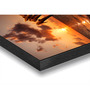 Hashtag Decor Sunset with Dolphins Engineered Wood 27 x 20 Inch Framed Art Panel