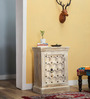 Erykah End Table in Distress Finish by Bohemiana
