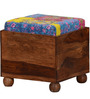 Vemaka Stool with Kaantha Patchwork by Mudramark