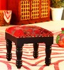 Sanaka Stool with Patchwork by Mudramark