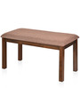 Sutlej Solid Wood Dining Bench in Brown Colour by @Home