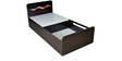 Swirl Single Size Bed With Box Storage by HomeTown
