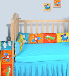 Swayam Digitally Printed Cot Bumper (Large / Std Size) - 1502059