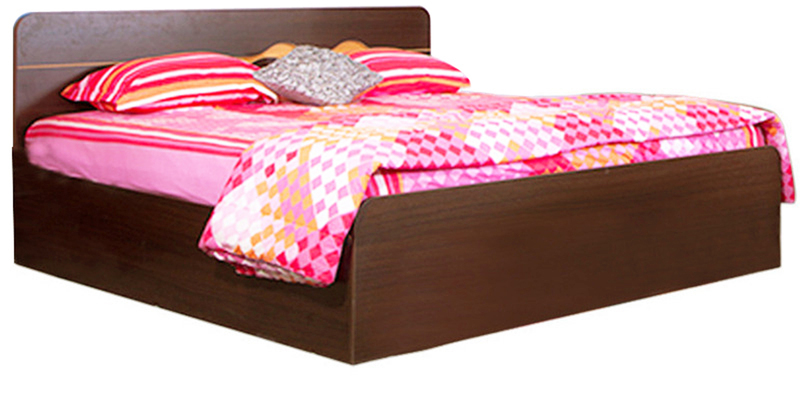 Swirl King Size Bed in Dual Finish by HomeTown