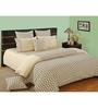 Swayam Cream Cotton Bed sheet - Set of 2