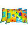 Swayam Digital Print Kids Pillow Cover 1 Pcs