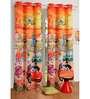 Swayam Digital Printed Kids Silk 90x48 INCH Eyelet Door Curtain