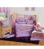 Swayam 7-Piece Purple Abstract Baby Crib Bedding Set