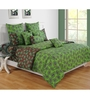 Swayam Green Cotton Bed sheet - Set of 2
