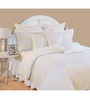Swayam Ivory Cotton Queen Size Bed Sheet - Set of 3