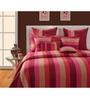 Swayam Magenta Cotton Bed sheet - Set of 2