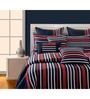 Swayam Navy Blue Cotton Bed sheet - Set of 2