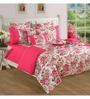 Swayam Pink Cotton Bed sheet - Set of 2