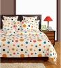 Swayam White Cotton Bed sheet - Set of 2