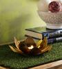 SWHF Gold Iron Candle Holder