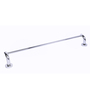Swift Vbathroom Silver Brass 25 x 3 x 3 Inch Single Towel Bar