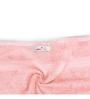 Swiss Republic Blue and Pink Cotton 28 x 59 Bath Towel - Set of 2