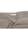 Swiss Republic Brown and Gray Cotton 28 x 59 Bath Towel - Set of 2