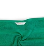 Swiss Republic Green and Blue Cotton 28 x 59 Bath Towel - Set of 2