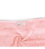 Swiss Republic Grey and Pink Cotton 28 x 59 Bath Towel - Set of 2