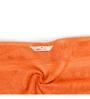 Swiss Republic Orange and Brown Cotton 28 x 59 Bath Towel - Set of 2