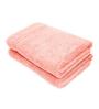 Swiss Republic Pink Cotton 28 x 59 Bath Towel - Set of 2