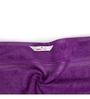 Swiss Republic Purple and Blue Cotton 28 x 59 Bath Towel - Set of 2