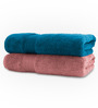 Swiss Republic Multicolour Bath Towel - Set of Two