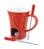 Swissmar Sweetheart Red Ceramic Mug Set