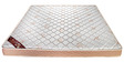 Synergy Fusion 6 Inch Thick Single-Size Latex Mattress by Englander