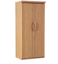 Sylas Two Door Wardrobe in Planked Alder Finish by HomeTown