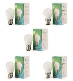 Syska SSK-PAG Cool White 3W LED Bulb - Set of 5