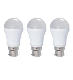 Syska SSK-PAG Cool White 5W LED Bulb - Set of 3