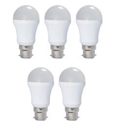 Syska SSK-PAG Cool White 5W LED Bulb - Set of 5