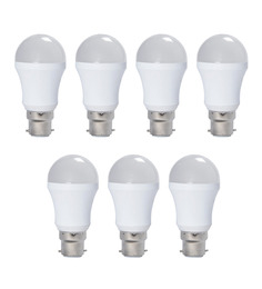 Syska SSK-PAG Cool White 5W LED Bulb - Set of 7